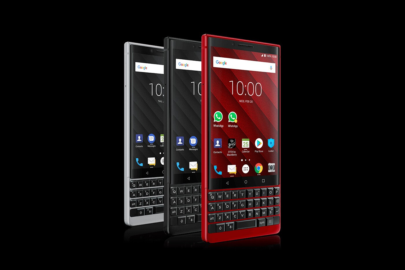 BlackBerry KEY2 Device assortment