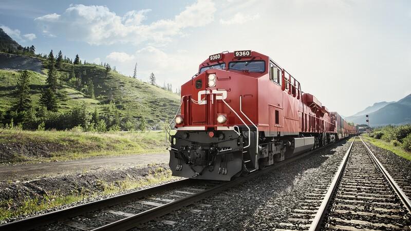 Canada Pacific locomotive