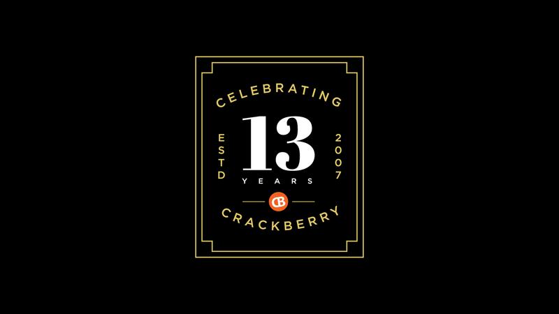 CrackBerry's 13th Birthday
