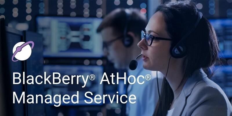 BlackBerry AtHoc Managed Service
