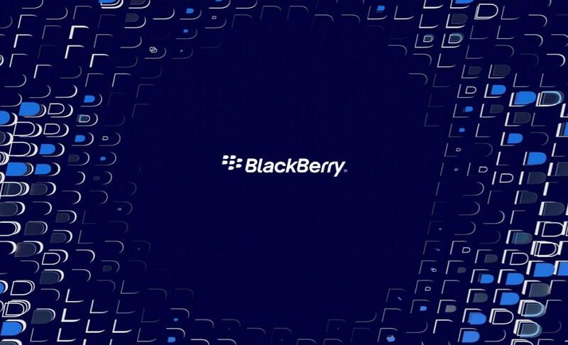 Blackberry Logo Water