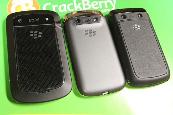 l to r: Bold 9900, 9790, 9780. From behind, the 9790 is perhaps the most subtle Bold