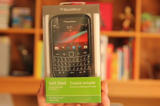 The Box - One Soft Shell Case for the BlackBerry Bold 9930 / 9900