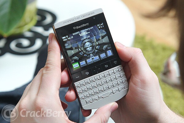 And the winner of CrackBerry Kevin's Porsche Design BlackBerry is....