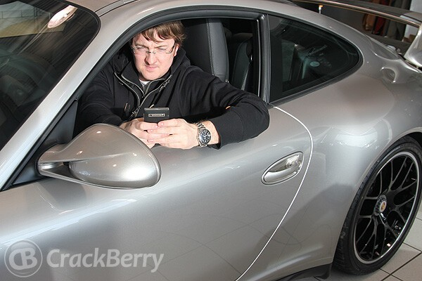 Porsche Design and BlackBerry collaborated on the design of the P'9981