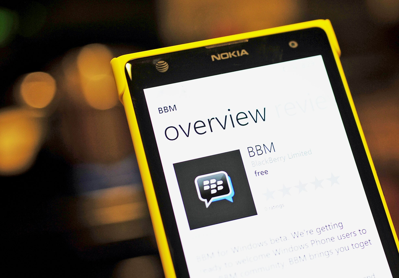 BBM Beta goes live in Windows Phone Store