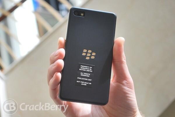 "The BlackBerry 10 Dev Alpha Device - a ""mini PlayBook"" of sorts"