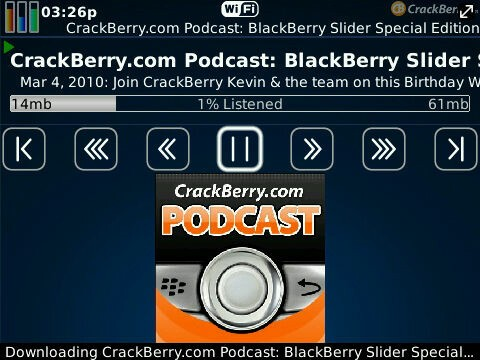 Download the CrackBerry Podcasts App