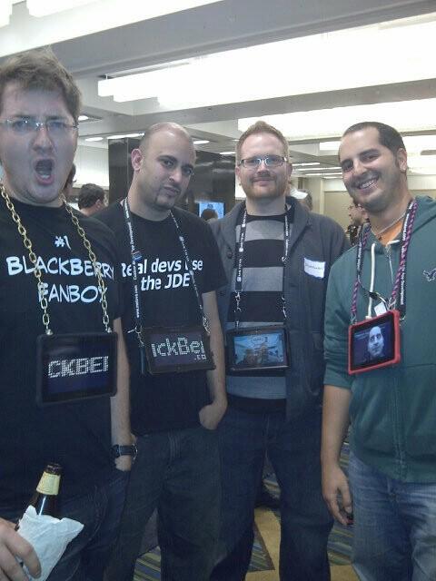 CrackBerry Kevin, Shao128, Ryan Blundell, Adam Zeis @ DevCon