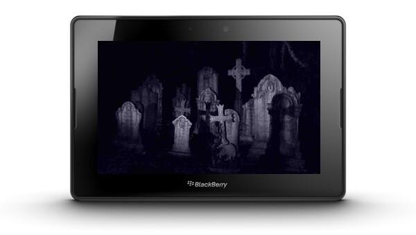 BlackBerry PlayBook Graveyard