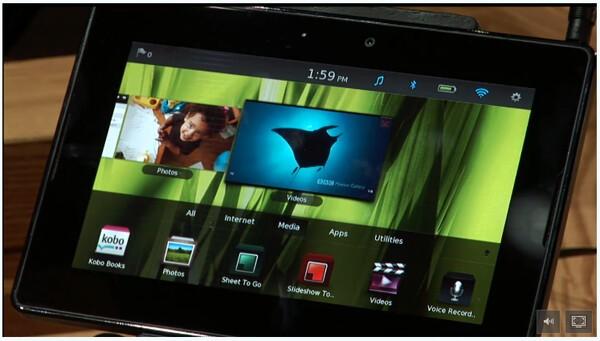 BlackBerry PlayBook Live Demo!
