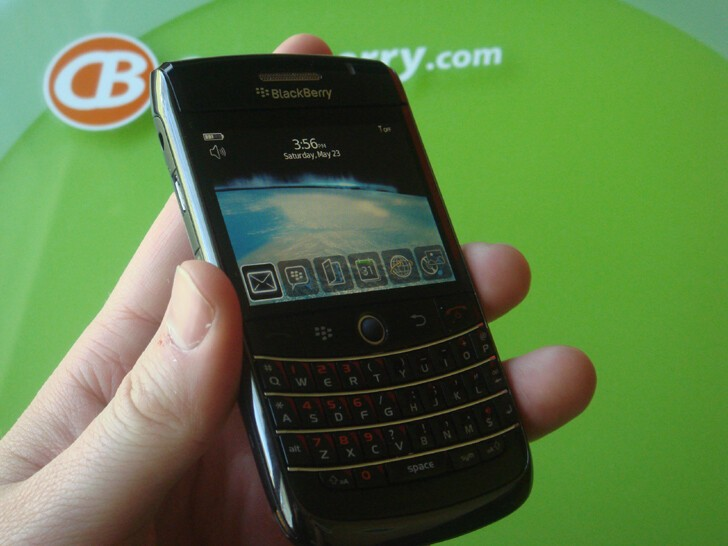 The same basic BlackBerry operating system we know so well