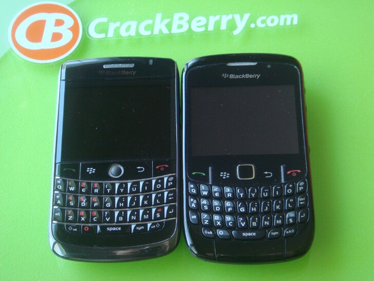 BlackBerry Onyx and Curve 8520. An optical trackpad on the Onyx would be sweet