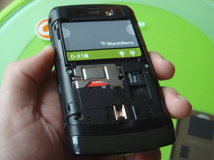 BlackBerry Storm2 - under the hood