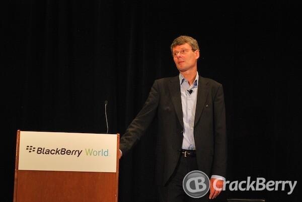 Thorsten Heins at BlackBerry World