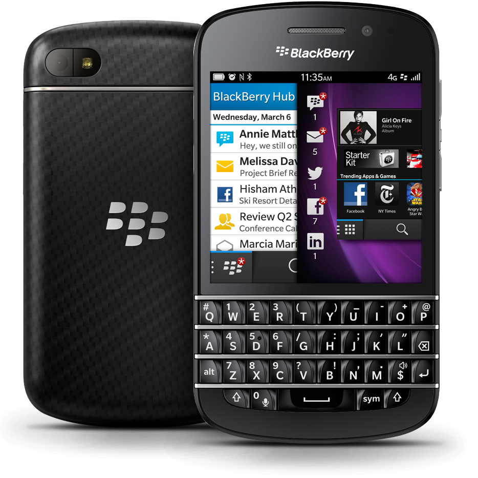 The new BLACKBERRY Q10 (not a Review) «