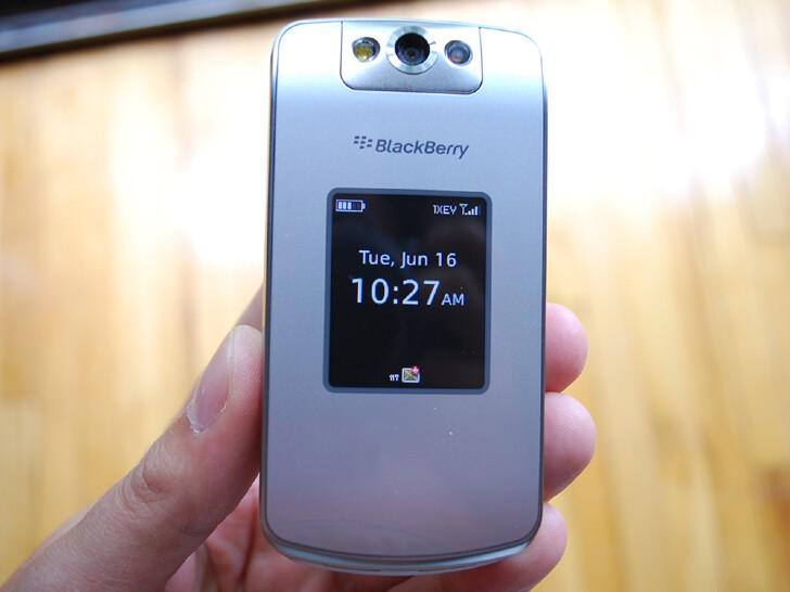 Verizon BlackBerry Pearl Flip Review