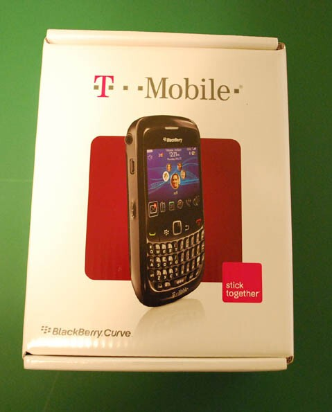 T-Mobile BlackBerry Curve 8520 First Impressions ...