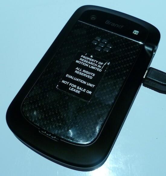 BlackBerry Bold 9900 9930 Back