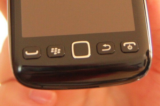 The raised buttons kind of kill the overall smoothness of the device