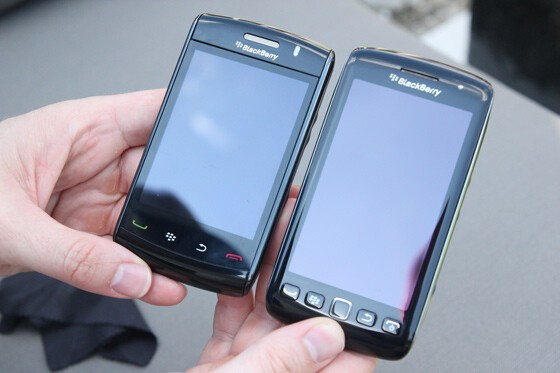 BlackBerry Storm 2 and BlackBerry Torch 9860