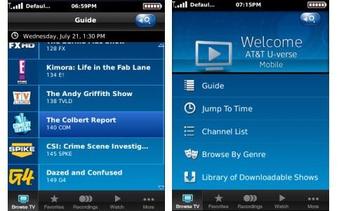 AT&T U-verse TV Program Guide - U-verse TV Support