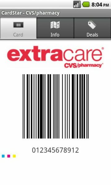 CardStar Barcode Image