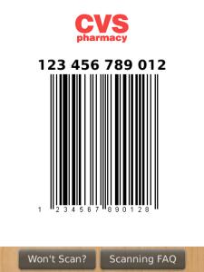 Key Ring Barcode Image