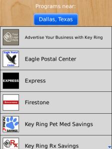 Key Ring Join Programs