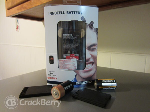 Seidio Innocell 3000mAH Super Extended Life Battery for the Bold 9900/30