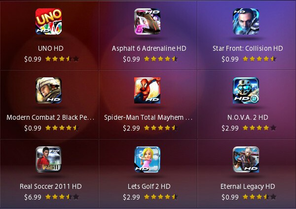 Gameloft Mobile Games For Blackberry