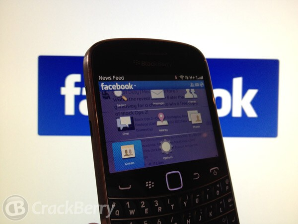 Facebook for BlackBerry updated to version 3.1.0.7 in ...