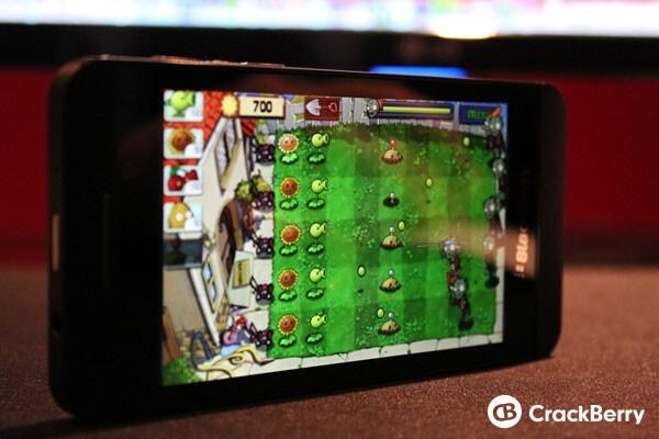 Plants vs. Zombies on BlackBerry 10