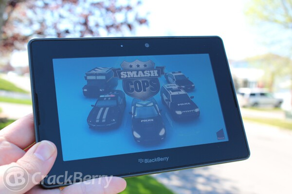 Smash Cops for the BlackBerry PlayBook