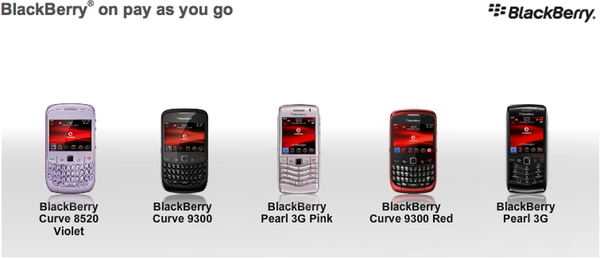 Best blackberry phone deals pay as you go