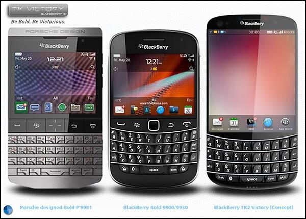 BlackBerry TK Victory