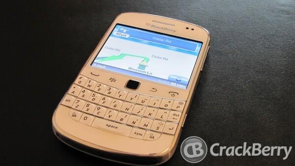 telmap blackberry torch