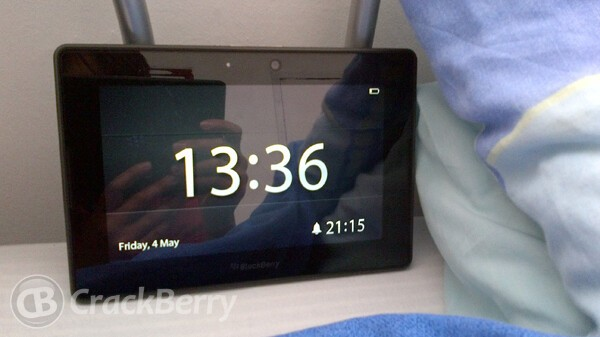Get set - Get up! for the BlackBerry PlayBook