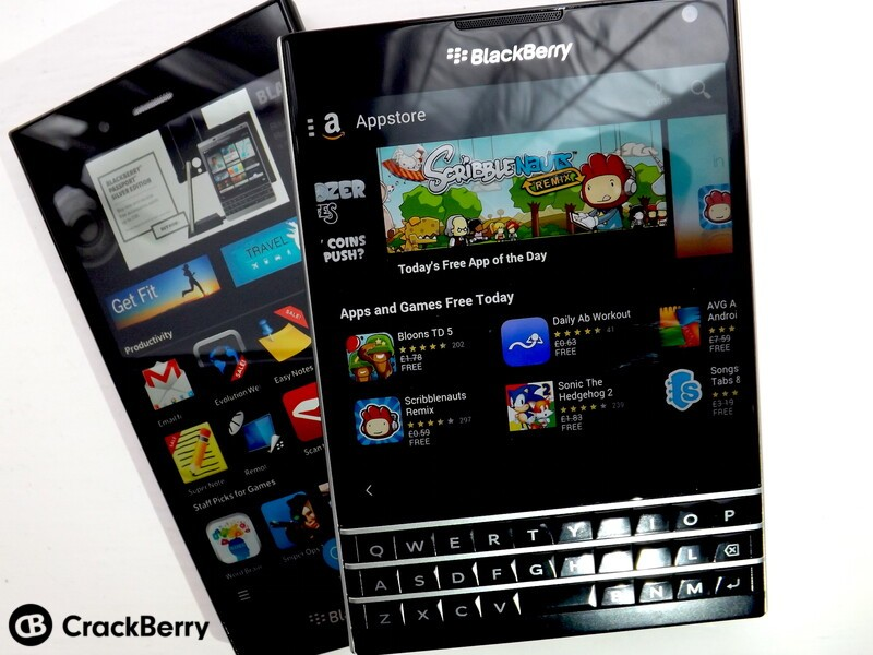 BlackBerry 10 users choose BlackBerry World over the Android alternatives