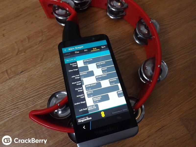 Glastonbury App