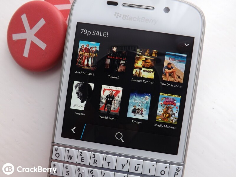 BlackBerry World Movies