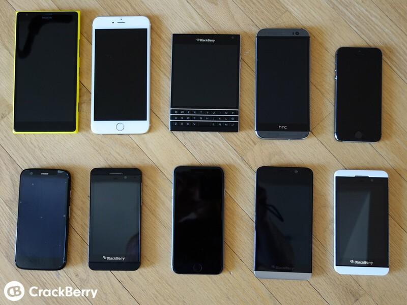BlackBerry Passport vs. Slabs