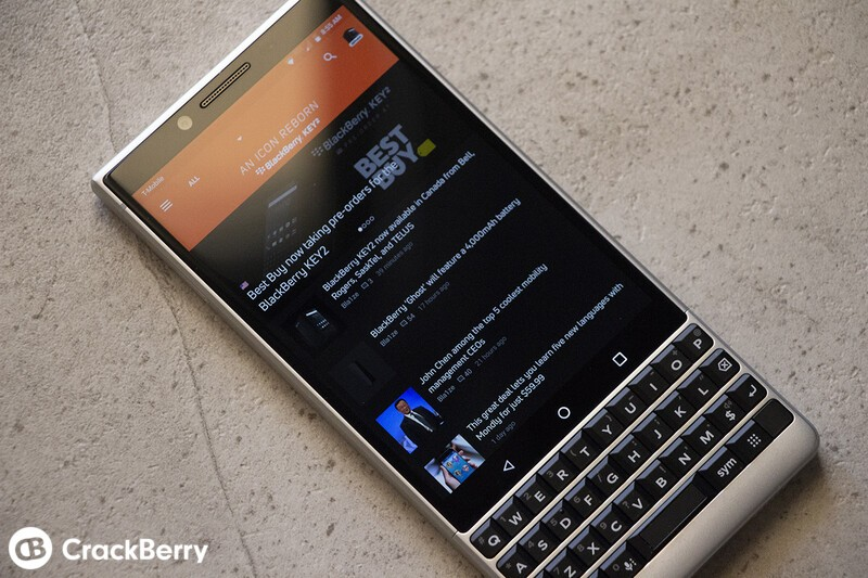 We've updated the CrackBerry Android app with new visuals, KEY2 help guides and more!
