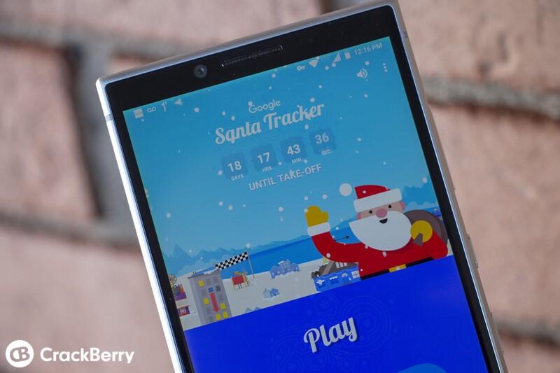 Google's updated Santa Tracker app