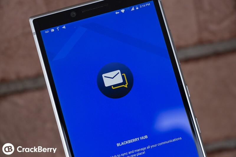 New BlackBerry Hub