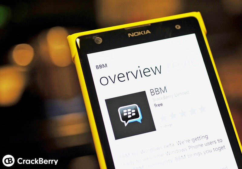 BBM for Windows Phone snags Channel support in latest update