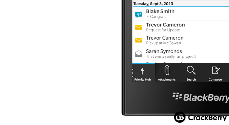 BlackBerry Rio to be called the BlackBerry Leap?