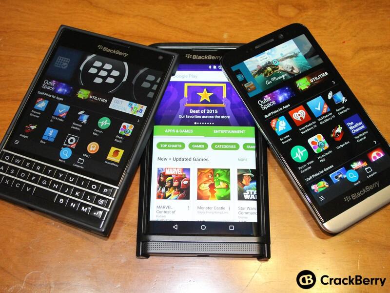 BlackBerry App Roundup 12/4/15