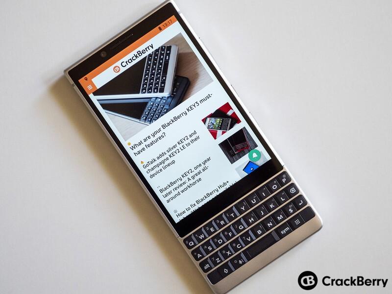 Light Mode on CrackBerry