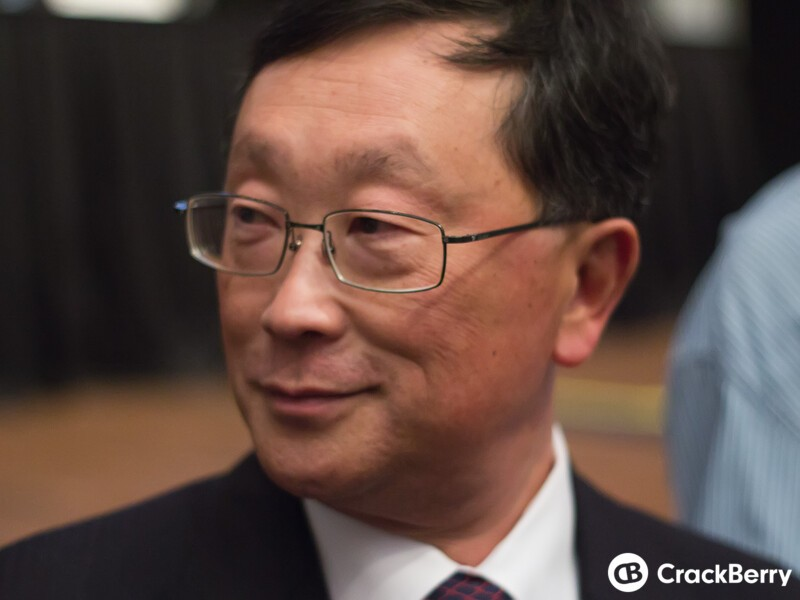 BlackBerry CEO John Chen discusses company strategy and new product launches